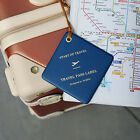 PLEPIC - Travel Pass Label - Travel Luggage Name Tag - Classy Travel Accessory