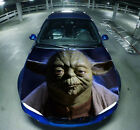 Master Yoda Star Wars Graphics Car Hood Bonnet Decal Vinyl Sticker fit any auto $75.06 CAD