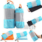 Portable Outdoor Sport Travel Camping Microfiber Quick-Drying Towel Shower w/Bag