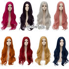 Внешний вид - Basic Lolita 80CM Long Wavy Hair Heat Resistant Anime Synthetic Cosplay Wig+Cap