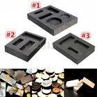 1PC Graphite Ingot Melting Casting Refining Scrap Bar Stone Cartridge Combo Mold