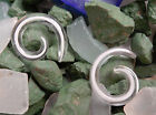 Glass Horse shoe, Half Moon Hanging Ear Plug Stretcher Body Piercing Jewelry 218