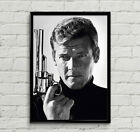 Roger Moore James Bond 007 Movie Poster Print High-Quality Wall Art A1, A2, A3+ £15.99 GBP on eBay