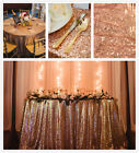 "50''x50"" Sequin Tablecloth Sparkly and Shimmer Tablecloth for Wedding/Party"