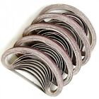 35 X Sanding Belts To Fit air powered Powerfile 10 x 330 mm 100% Fit Rate
