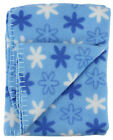 Soft Fleece Receiving Baby Blanket 30x30 Inch for Girls,  Boys,  Toddlers & Kids