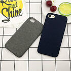 """For Iphone 7 Plus  5.5"""" Cover Case Soft Denim+TPU Hybrid Shockproof  Protective"""
