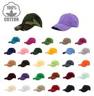Gelante Plain Baseball Cap Polo style Washed Adjustable 100 cotton Ship in box