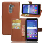 Card Slot Holder Leather Case Flip Wallet Cover Pouch For Huawei Mate 9 Lite