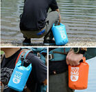 Boating Kayaking Canoeing Floating Waterproof Storage Dry Sack Bag Pouch 2L / 5L