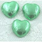 Light Green Luxury Swiss Milk Chocolate Hearts | Ideal Wedding Favour Sweet