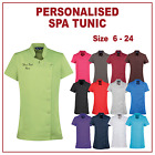 Personalised Embroidered Beauty Spa Tunic Salon Hairdressing Nail Clinic Uniform