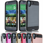 Full Body Matte Hybrid Rubber Protective Hard Case Cover for HTC Desire 626/626S