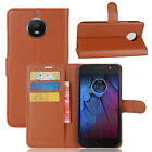For Motorola Moto G5S Case PU Leather Flip magnet Cover Slots Wallet Protective
