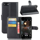 For Doogee Shoot 2 Case PU Leather Flip Stand Cover Slots Wallet Protective