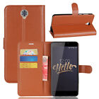 """For Cubot MAX 6.0"""" Case PU Leather Flip Stand Cover Slots Wallet Protective Skin"""