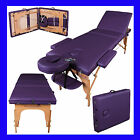Kyпить LIGHTWEIGHT PORTABLE MASSAGE TABLE COUCH BEAUTY THERAPY BED REIKI 1.5