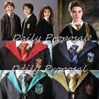HP2 Harry Potter Adult & Kids Robe Cloak 4 Houses S-2XL Halloween Costume USA