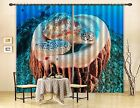 3D Turtles 712 Blockout Photo Curtain Printing Curtains Drapes Fabric Window AU