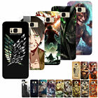 Japanese Anime Attack On Titan Case Cover Coque For Samsung S5 6/7 Edge S8P