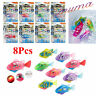 Robotic Robo Fish Battery Powered Water Activated Swimming Kids Toy Pet Gift