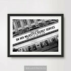 JAMES BOND ON HER MAJESTYS SECRET SERVICE Art Print Poster Cinema Sign Marquee £16.99 GBP