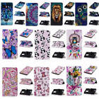 For ZTE Zmax Pro Z981 Hot Relief Premium Varnish Leather Card Pockets Case Cover