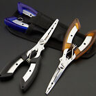 Stainless Steel Fishing Pliers Clip Scissors Line Cutter Remove Hook Tackle Tool