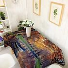 3D River Boat 8Tablecloth Table Cover Cloth Birthday Party Event AJ WALLPAPER CA