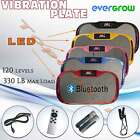 EverGrow massage Vibration Fitness Trainer Plate w/ Straps + BlueTooth