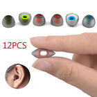 6 Pairs Silicone Earbud Headset Ear Pads Gel Covers Tips For Earphone 3 Sizes