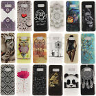 Ultra Slim Shockproof Rubber Soft TPU Gel Painting Case Cover For Samsung Galaxy