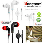 1.2M Long Headphones 3.5mm Plug Stereo In-Ear Earphones For Android Smartphones