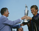 NICK FALDO 01 HOLDING THE CLARET JUG (GOLF)  PHOTO PRINTS AND MUGS