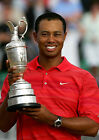 TIGER WOODS 04 HOLDING THE CLARET JUG (GOLF)  PHOTO PRINTS AND MUGS