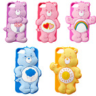 3D Cartoon Bear Silicone Rubber Gel Soft Case Cover Skin For iPhone 5/6/7 Plus