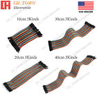 Внешний вид - 40pcs Dupont Wire 10 20 30 40CM Breadboard Jumper Wires Ribbon Cable For Arduino