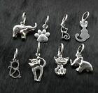 Genuine 925 Sterling Silver Pendants Charms For European Charm Bracelet