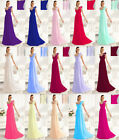 New Formal Long Evening Ball Gown Party Prom Bridesmaid Dresses Stock Size6-20