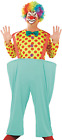 Mens Bright Spotty Comedy Clown Circus Fancy Dress Costume Outfit M L XL