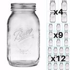 945ml BALL Mason Jars - Glass Regular Mouth Screw Top - Canning Decoration 32 oz