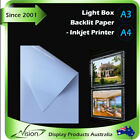 A3 A4 LED Panel Backlit Paper  Backlight Sheet for Light Box Real Estate -ink