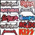 large heavy metal rock music iron on sew on rock back band patches badges 28 cm