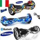 HOVERBOARD 8 POLLICI SMART BALANCE OVERBOARD  PEDANA SCOOTER BLUETOOT