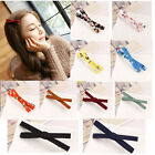2017 Korean Fabric Bow Hair Headdress Hairpin Alligator Clips  Hair Accessories