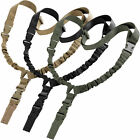 LIVABIT Tactical Single Point Bungee Rifle Sling Strap Quick Release Buckle