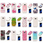 For Samsung Galaxy S7 edge Soft Shockproof Rubber Glossy Light Practical Covers