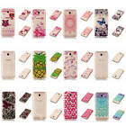 For Samsung Galaxy On7 (2016)/J7 Prime Soft Shockproof Rubber Glossy Light Cover