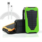 Portable 50000mAh 2USB External Battery Power Bank Solar Charger For CellPhone