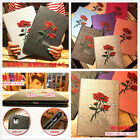 Style 3D beautiful Rose Flower Stand Leather Cover case for ipad 4 5 6 7 mini